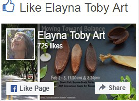 follow Elayna on Facebook